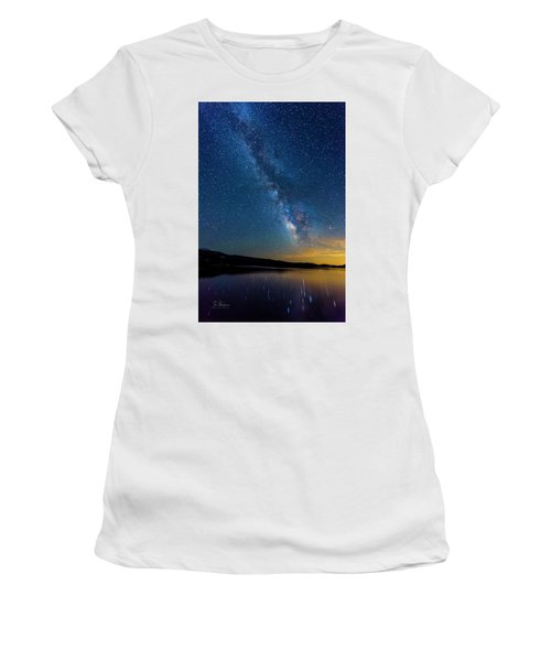 Milky Way 6 Women's T-Shirt (Athletic Fit)