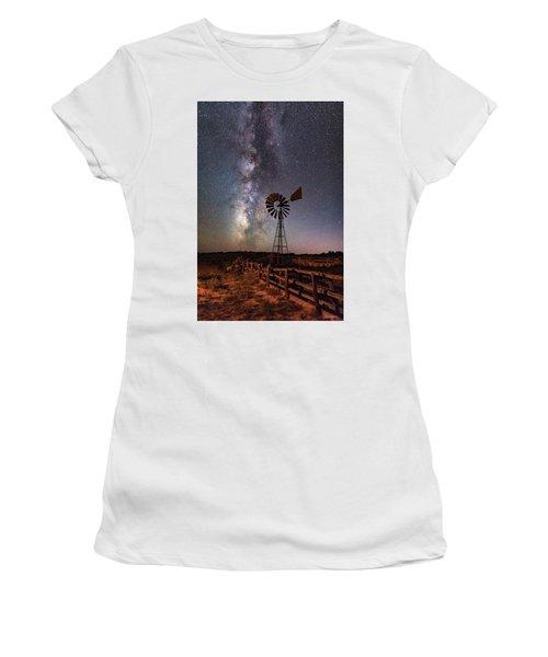 Milky Way At Dubinky Well Women's T-Shirt