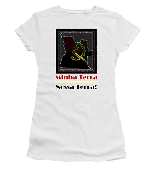 Minha Terra Women's T-Shirt (Athletic Fit)