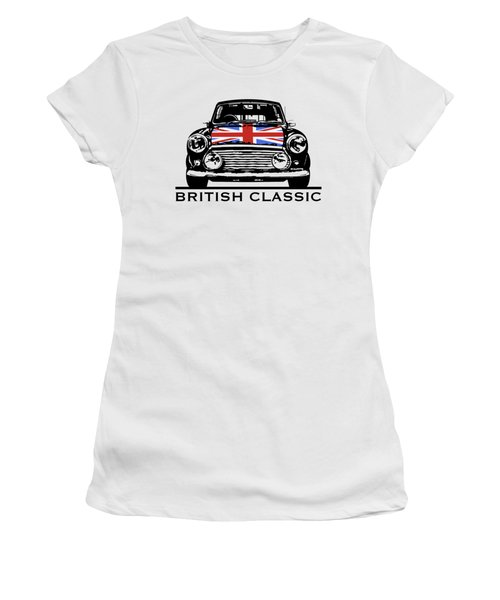 Mini British Classic Women's T-Shirt (Athletic Fit)