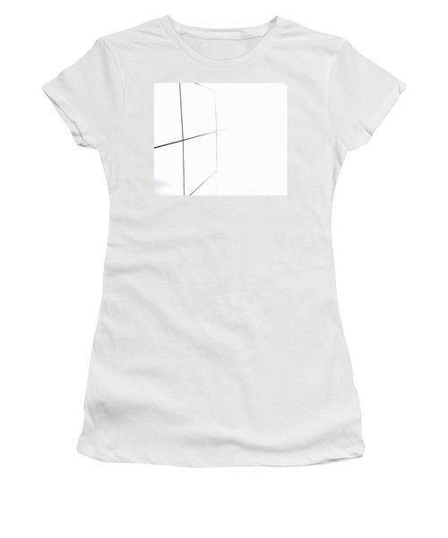 Minimal Squares Women's T-Shirt (Athletic Fit)