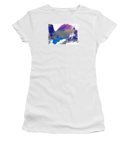 Miss Emma's Abstract Women's T-Shirt (Junior Cut) by Fred Wilson