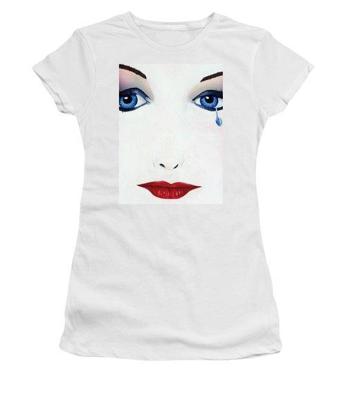 Missing You Women's T-Shirt (Junior Cut) by Mayhem Mediums
