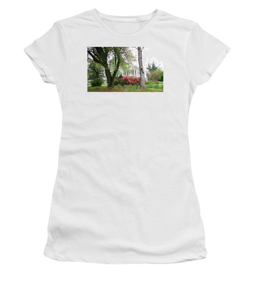 Mississippi Mansion  Women's T-Shirt (Athletic Fit)