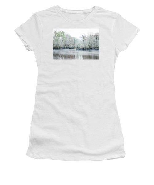 Mist On The River Women's T-Shirt