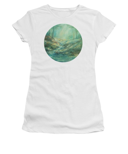 The Misty Forest Stream Women's T-Shirt
