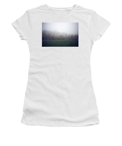 Women's T-Shirt featuring the photograph Misty Mood by Brian Hale