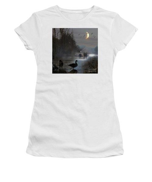 Misty Moonlight Women's T-Shirt