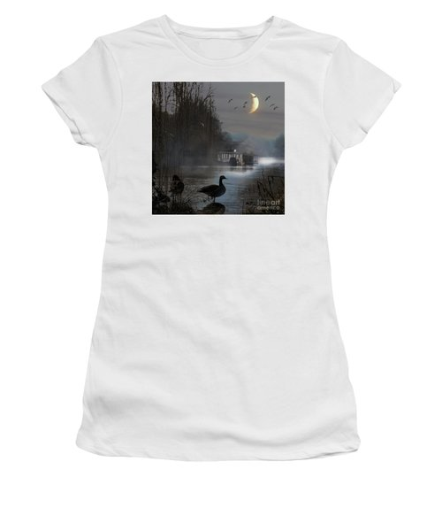 Misty Moonlight Women's T-Shirt (Athletic Fit)