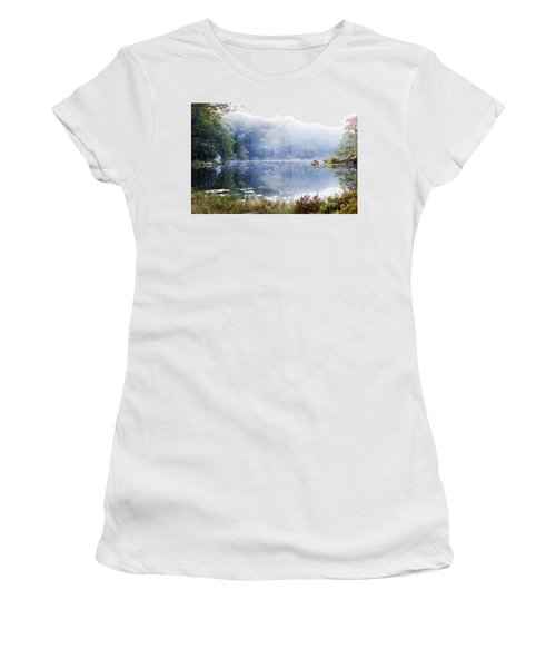 Misty Morning At John Burroughs #1 Women's T-Shirt (Athletic Fit)