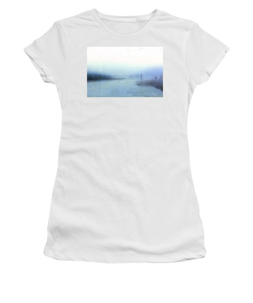Misty Morning Women's T-Shirt (Junior Cut) by Catherine Alfidi