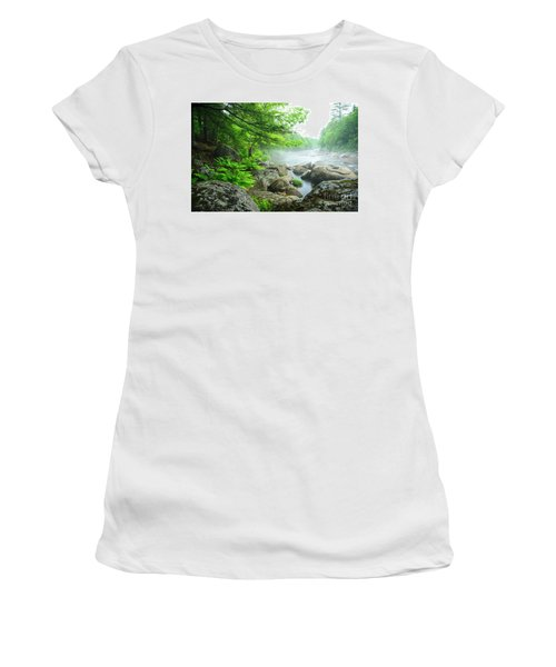 Misty Waters Women's T-Shirt (Athletic Fit)