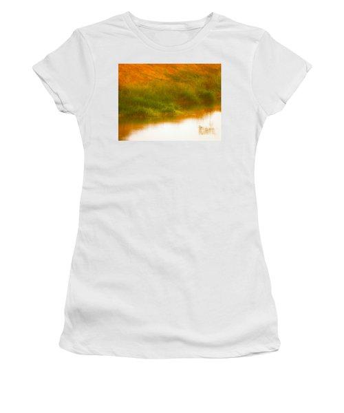 Misty Yellow Hue -lone Jacana Women's T-Shirt