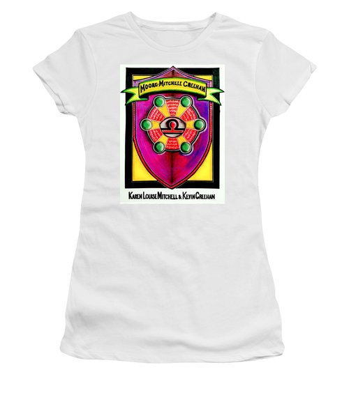 Mitchell-creehan Ancestral Healing Family Crest Women's T-Shirt (Athletic Fit)