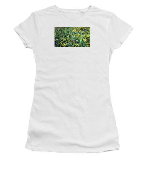 Mixed Wildflowers In Texas Women's T-Shirt