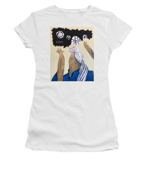 Mmxvii The Ascension No 4 Women's T-Shirt (Athletic Fit)