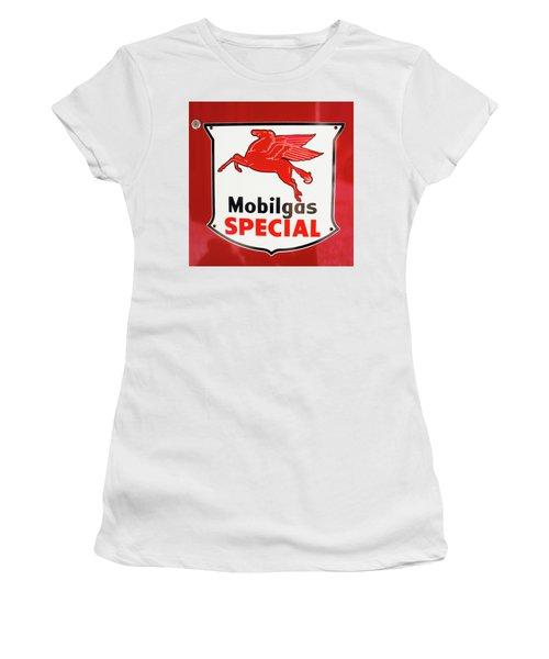 Mobilgas Vintage 82716 Women's T-Shirt