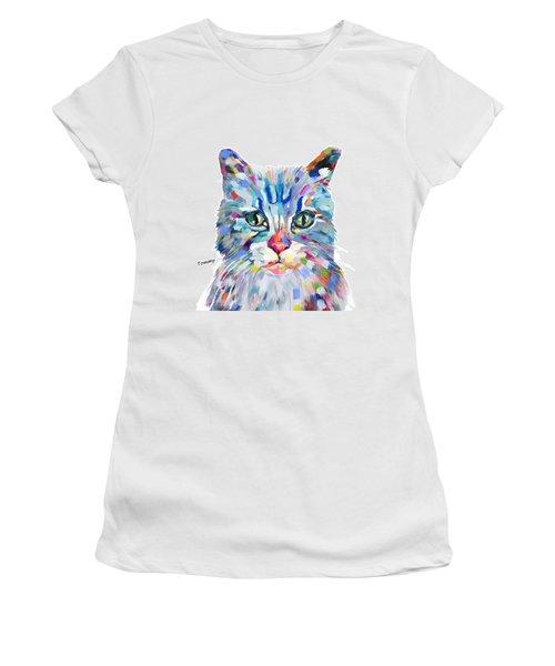 Modern Cat Women's T-Shirt