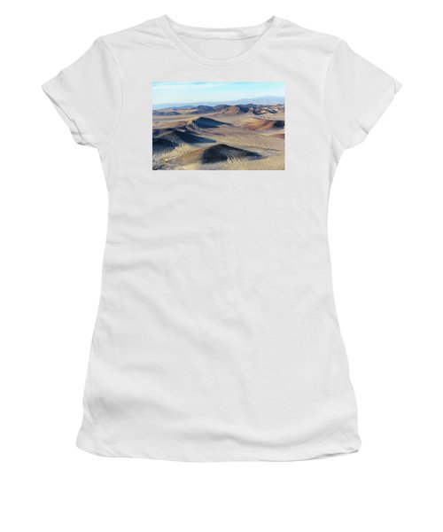 Women's T-Shirt featuring the photograph Mojave Desert by Jim Thompson