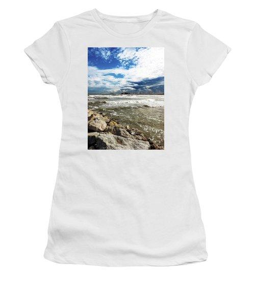 Mole Stones  In Rimini Women's T-Shirt