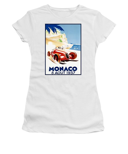Monaco Grand Prix 1937 Women's T-Shirt