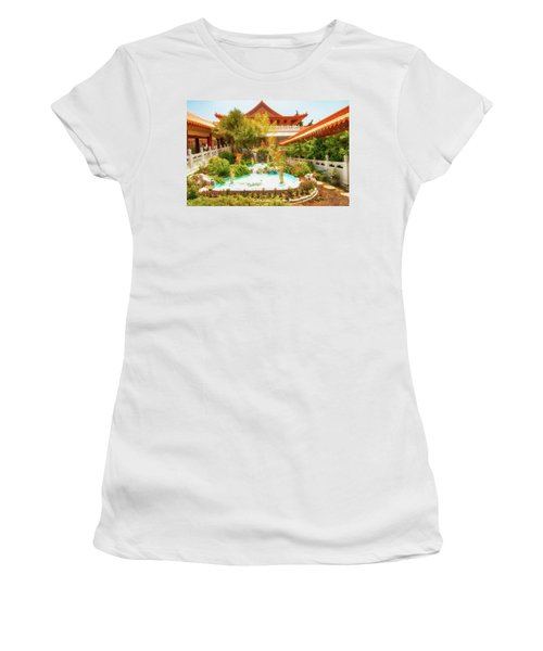 Women's T-Shirt (Junior Cut) featuring the photograph Monastery by Joseph Hollingsworth