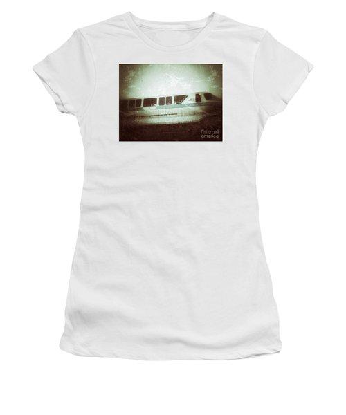 Monorail Women's T-Shirt (Junior Cut) by Jason Nicholas