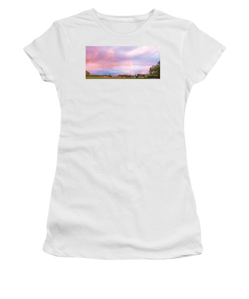 Montana Sunset 1 Women's T-Shirt
