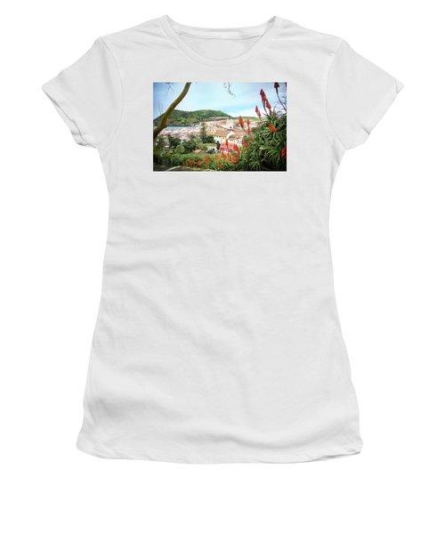 Monte Brasil And Angra Do Heroismo, Terceira Women's T-Shirt