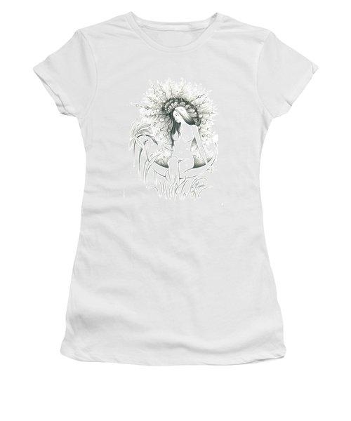 Moon Dew Women's T-Shirt (Junior Cut) by Anna Ewa Miarczynska