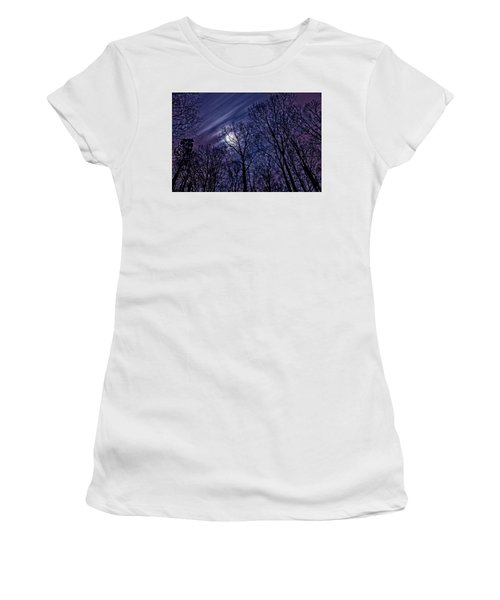 Moonlight Glow Women's T-Shirt (Athletic Fit)