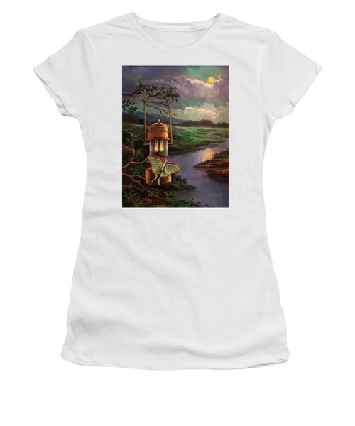 Moonlight, Silhouettes And Shadows Women's T-Shirt