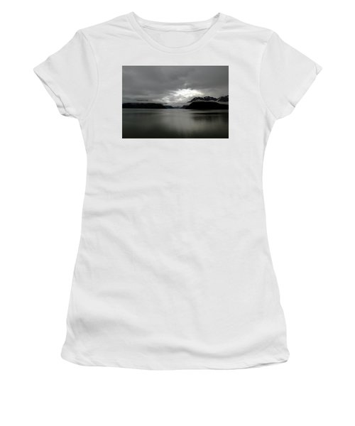 Morning In Alaska Women's T-Shirt (Athletic Fit)