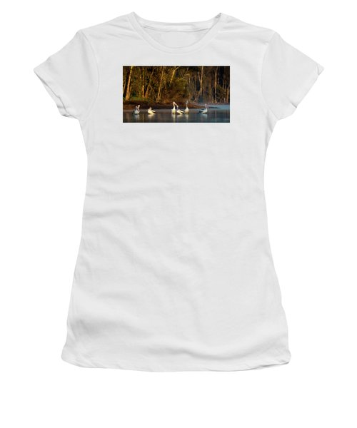 Morning On The River Women's T-Shirt