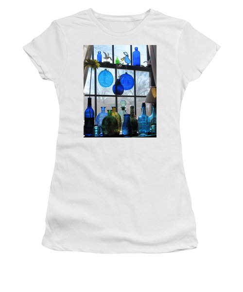 Women's T-Shirt (Junior Cut) featuring the photograph Morning Sun by John Scates