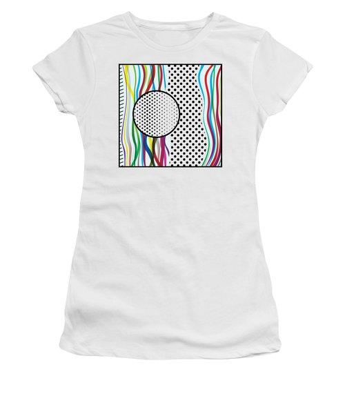 Morris Pop-art Women's T-Shirt (Junior Cut)