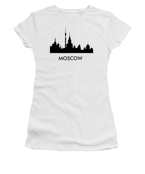 Moscow Women's T-Shirt (Athletic Fit)
