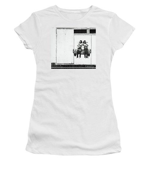 Double Trouble Women's T-Shirt (Junior Cut) by Joe Jake Pratt