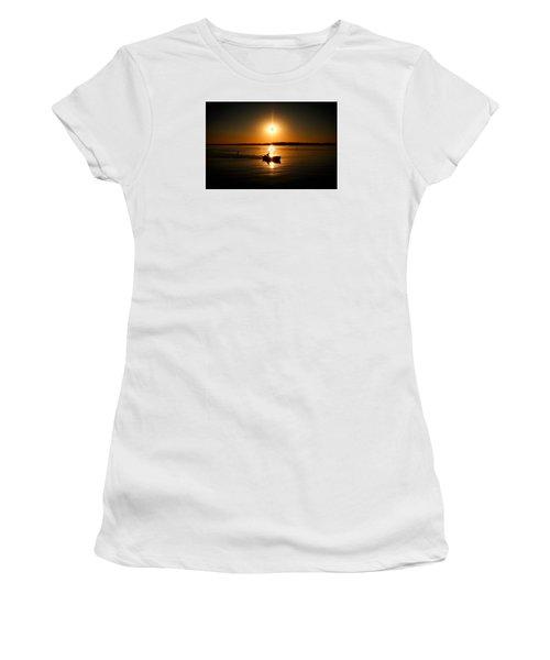 Motor Boat Ride Women's T-Shirt