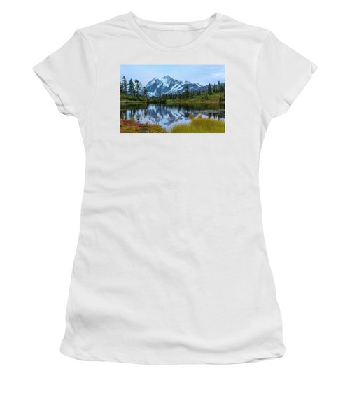 Mount Shuksan And Picture Lake Women's T-Shirt