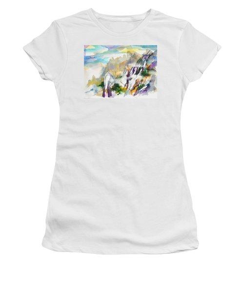 Mountain Awe #2 Women's T-Shirt