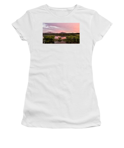 Mountain Sunrise Women's T-Shirt (Athletic Fit)