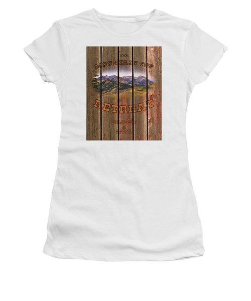 Mountain Top Retreat Women's T-Shirt