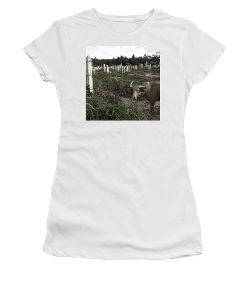 Mourning In The Palm-tree Graveyard Women's T-Shirt