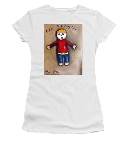 Mr. Bill Women's T-Shirt (Athletic Fit)