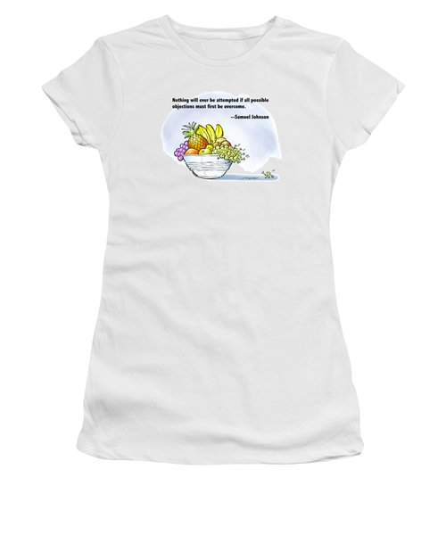 Mr. Grape And Dr. Johnson Women's T-Shirt