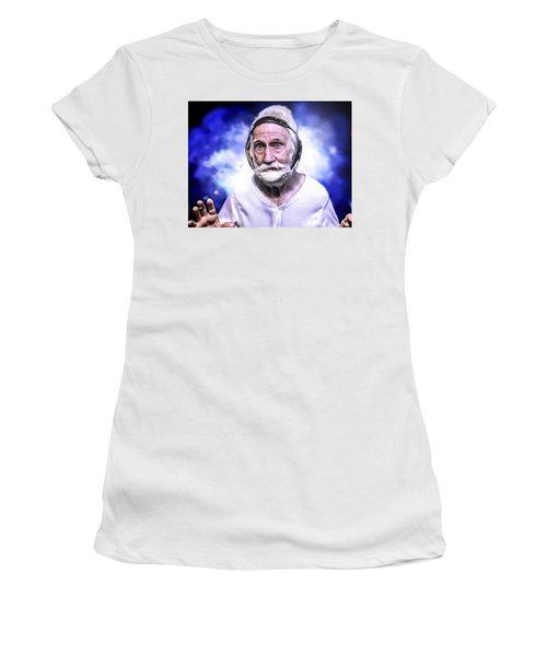 Mr. Joseph Blue Pulaski Women's T-Shirt (Athletic Fit)