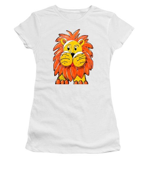 Mr. Lion Women's T-Shirt (Junior Cut) by Tami Dalton