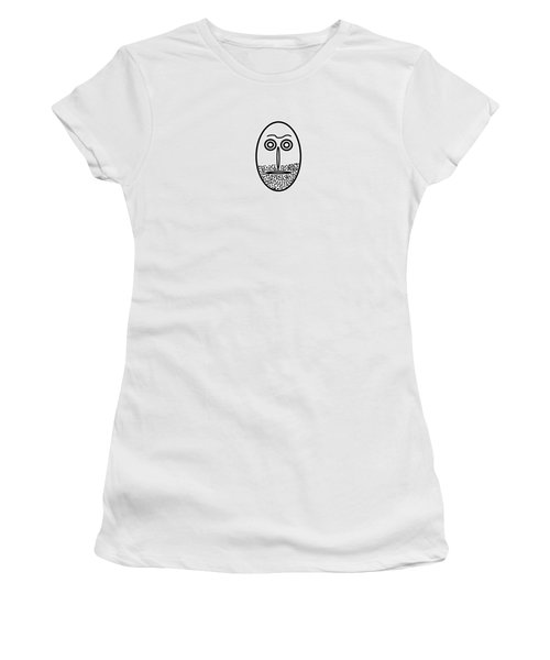 Mr. Mf Is An Unshaved Macho Women's T-Shirt (Athletic Fit)