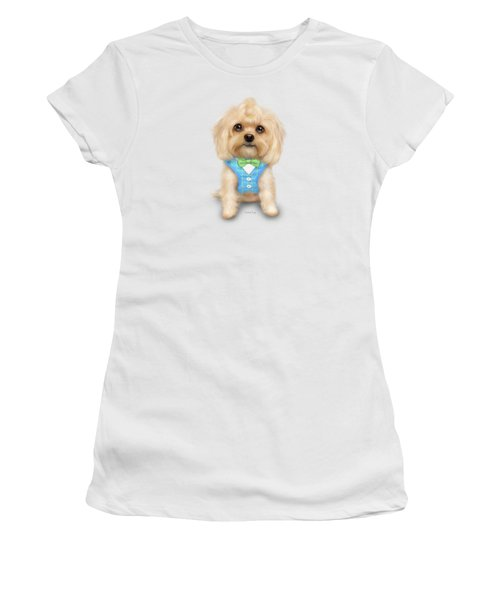 Mr.toby Waffles Women's T-Shirt (Athletic Fit)